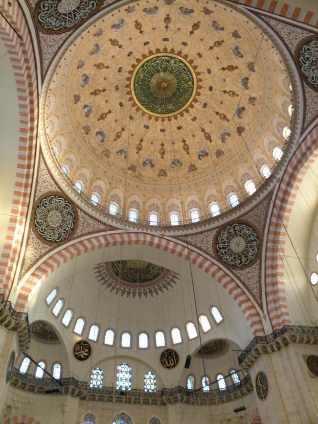 Sulaimaniya camii - dome