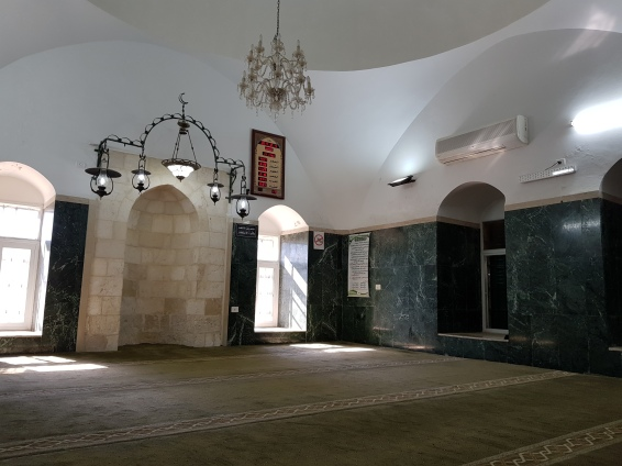 Inside the little mosque